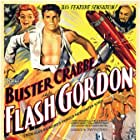 Buster Crabbe, Charles Middleton, and Jean Rogers in Flash Gordon (1936)