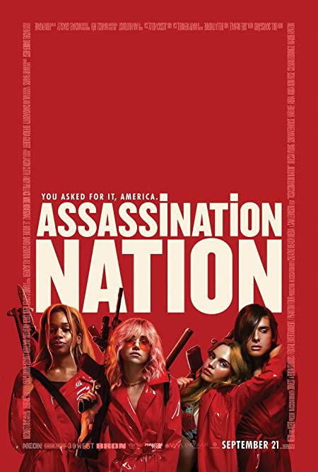 Assassination Nation (2018) Dual Audio [Hindi+English] 720p | 480p Blu-Ray x264 AAC 800MB | 400MB Download