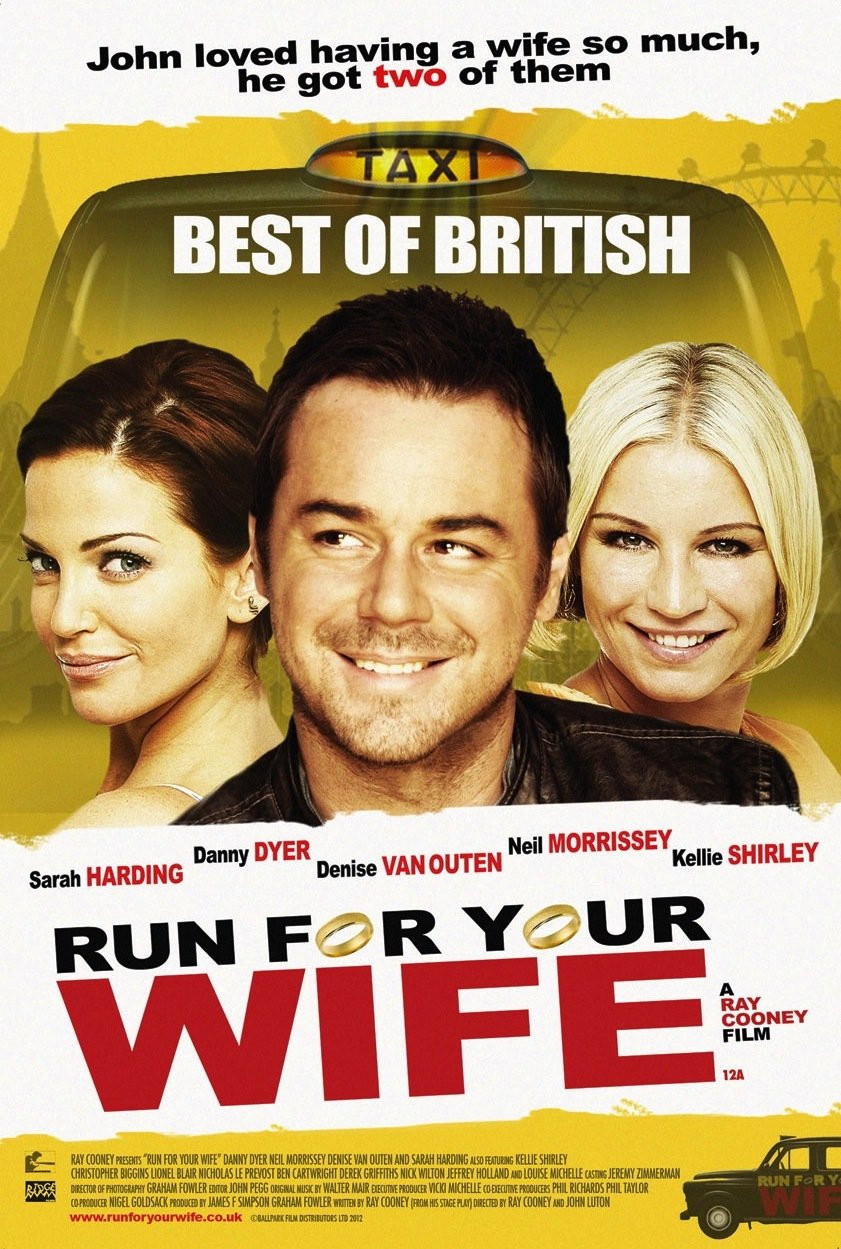 Danny Dyer, Denise Van Outen, and Sarah Harding in Run for Your Wife (2012)