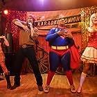 Kenan Thompson, Steve Howey, Desi Lydic, and Diora Baird in Stan Helsing (2009)