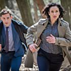 Indira Varma and Dino Fetscher in Paranoid (2016)