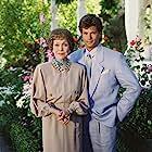 Lorenzo Lamas and Jane Wyman in Falcon Crest (1981)