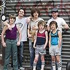 Jesse Eisenberg, Chris Marquette, Jason Ritter, Miles Chandler, Steven Hinkle, and Cain Kerner in The Education of Charlie Banks (2007)