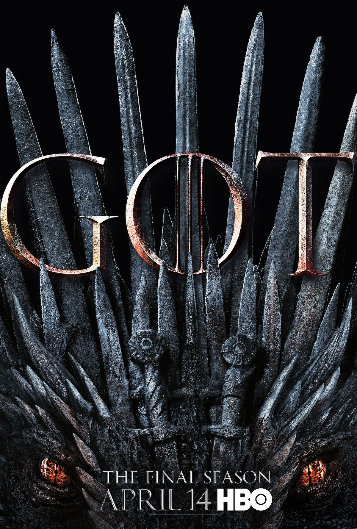Sostų karai (8 Sezonas) / Game Of Thrones (Season 8) (2019)