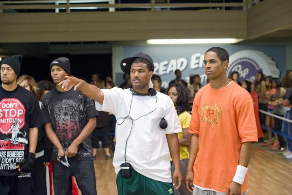 Damon Wayans Jr., Andrew McFarlane, Damien Dante Wayans, and Affion Crockett in Dance Flick (2009)