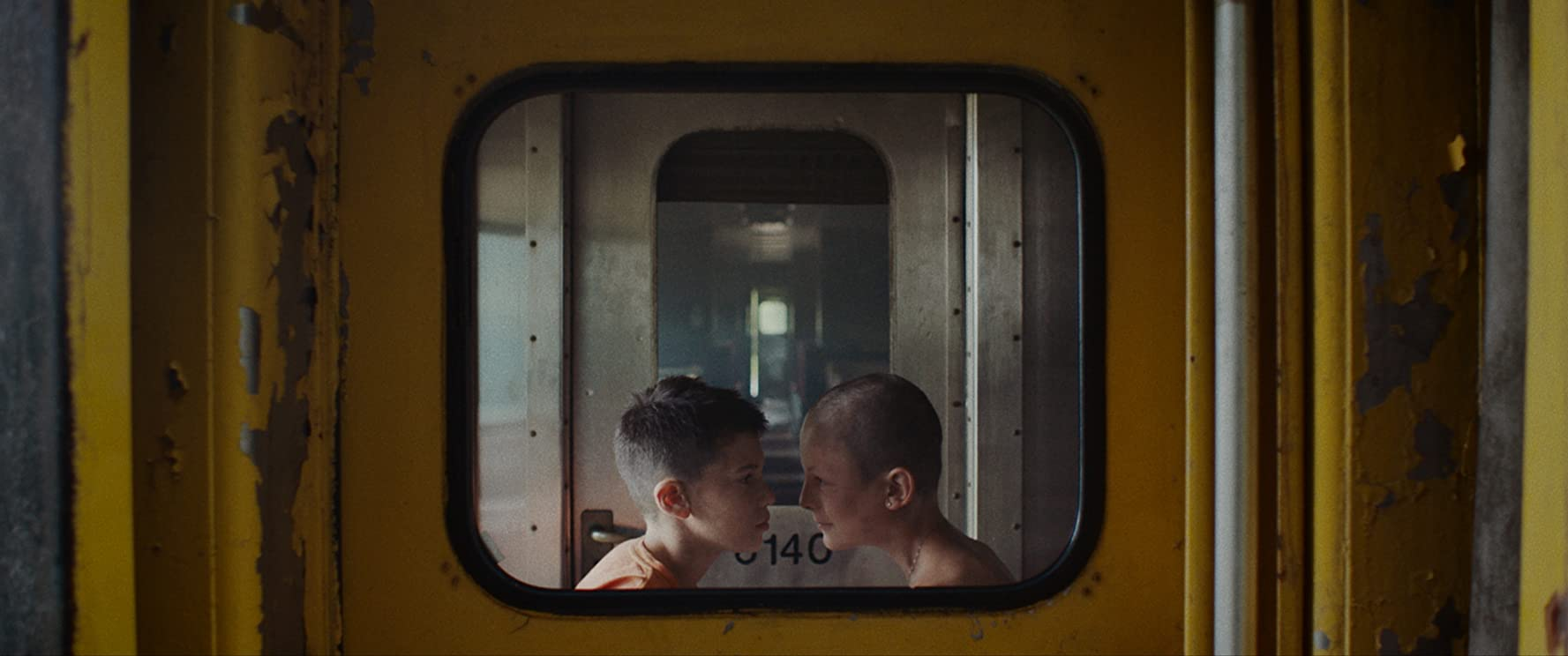 Félix Grenier and Alexandre Perreault in Fauve (2018)