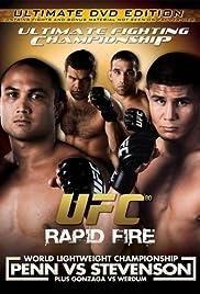 UFC 80: Rapid Fire Poster