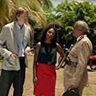 Kris Marshall, Sara Martins, and Don Warrington in Death in Paradise (2011)