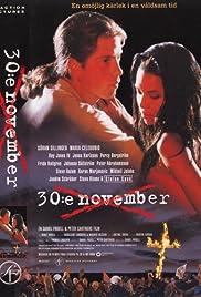 30:e november(1995) Poster - Movie Forum, Cast, Reviews