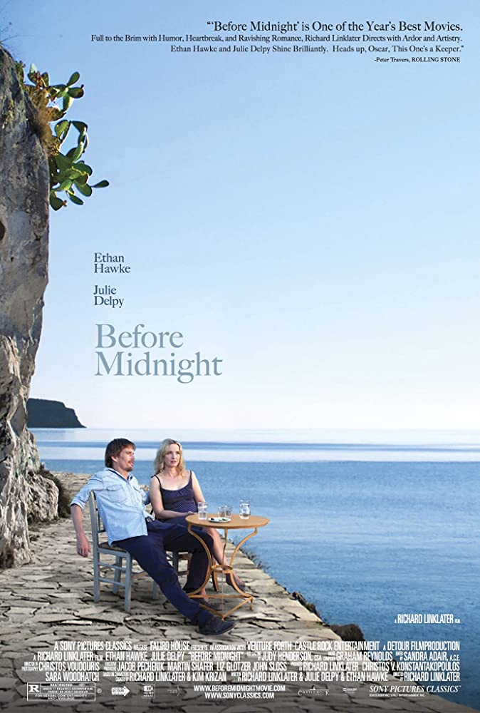 Ethan Hawke and Julie Delpy in Before Midnight (2013)
