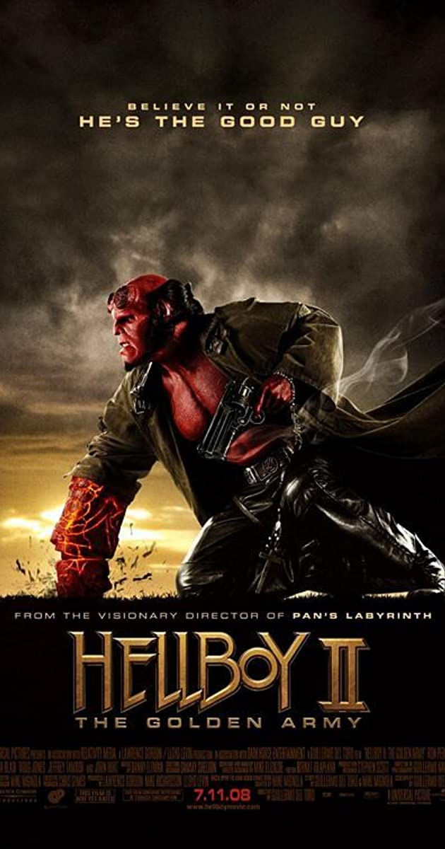 Subtitle of Hellboy II: The Golden Army
