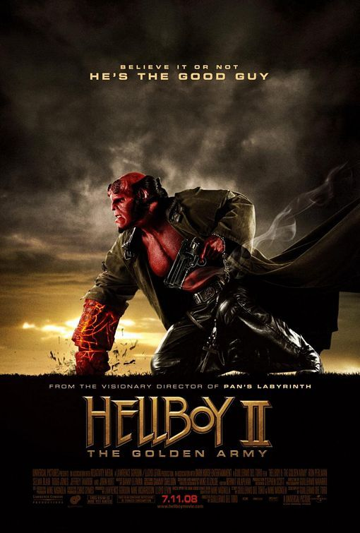 Hellboy II: The Golden Army (2008) BluRay 480p, 720p & 1080p
