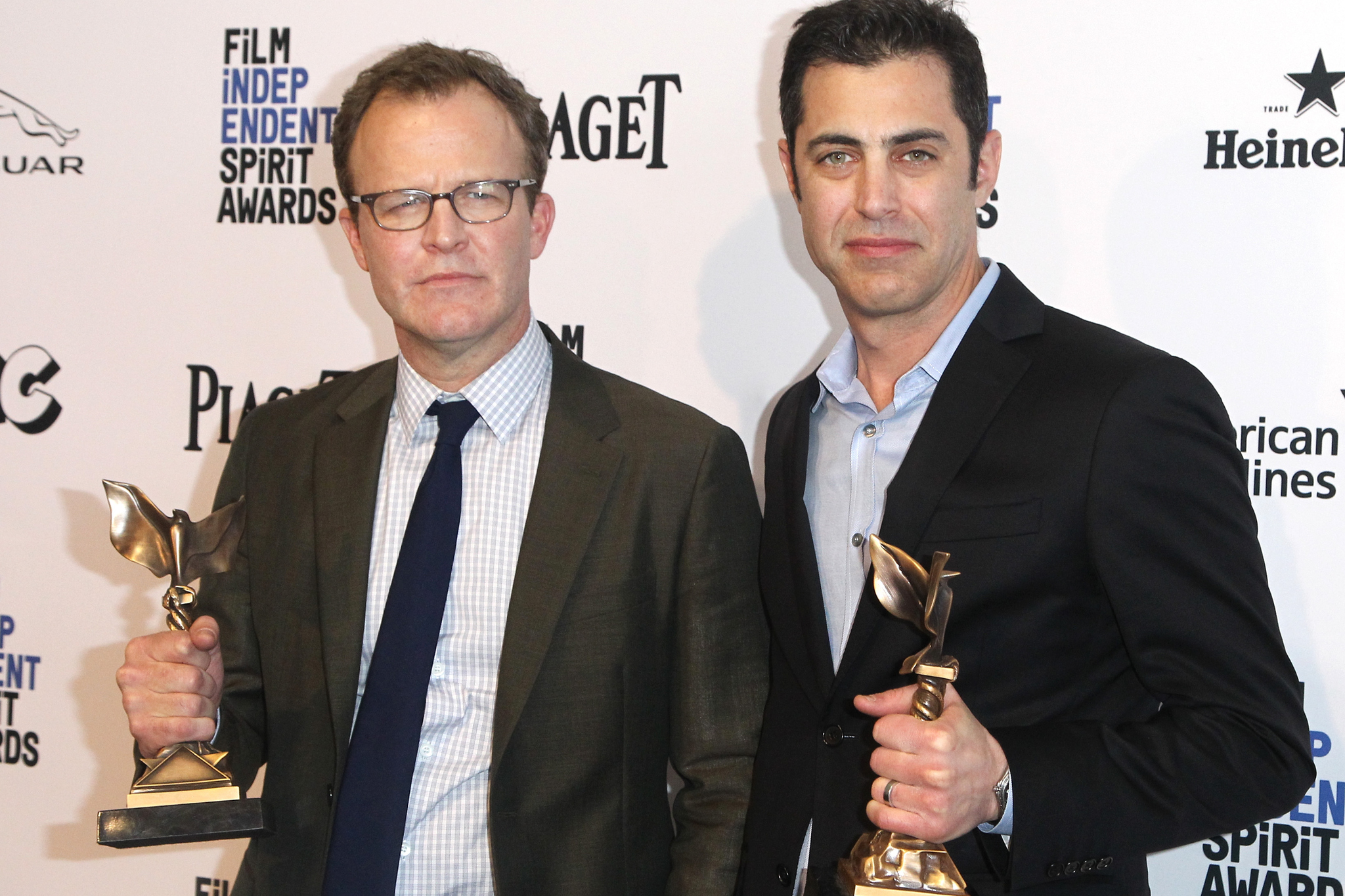 Tom McCarthy and Josh Singer at an event for 31st Film Independent Spirit Awards (2016)