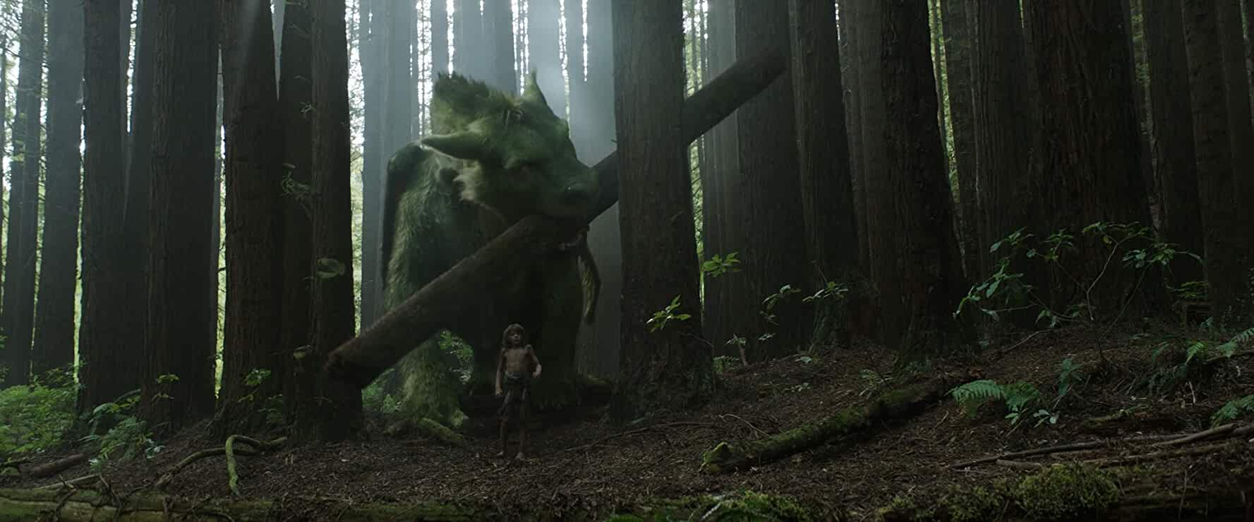 John Kassir and Oakes Fegley in Pete's Dragon (2016)