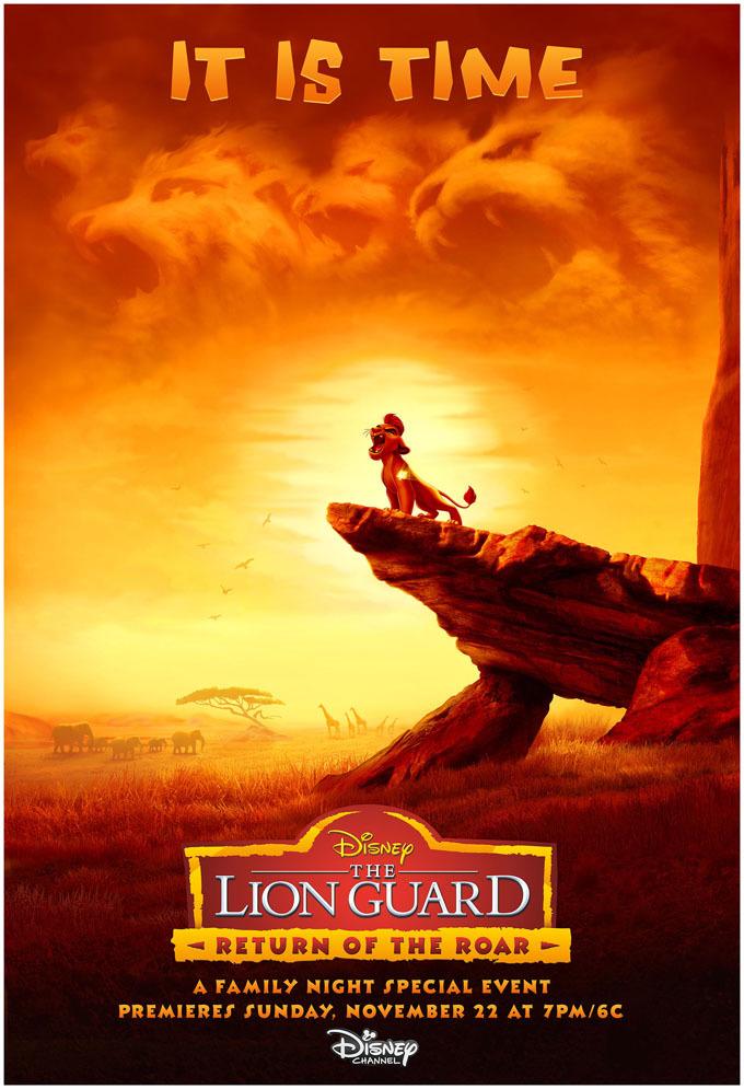 The Lion Guard Return of the Roar 2015 Dual Audio Hindi 720p HDRip 360MB ESub Download