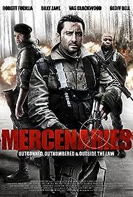 Billy Zane, Vas Blackwood, and Robert Fucilla in Mercenaries (2011)