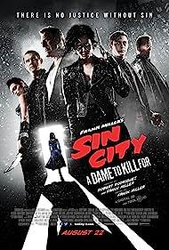 Bruce Willis, Mickey Rourke, Josh Brolin, Jessica Alba, Rosario Dawson, Joseph Gordon-Levitt, and Eva Green in Sin City: A Dame to Kill For (2014)