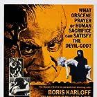 Boris Karloff and Barbara Steele in Curse of the Crimson Altar (1968)