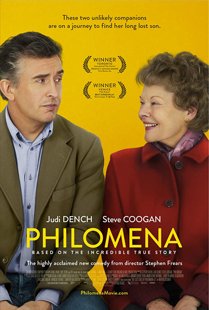 Judi Dench and Steve Coogan in Philomena (2013)