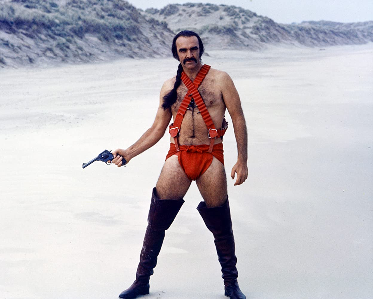 Sean Connery in Zardoz 1974