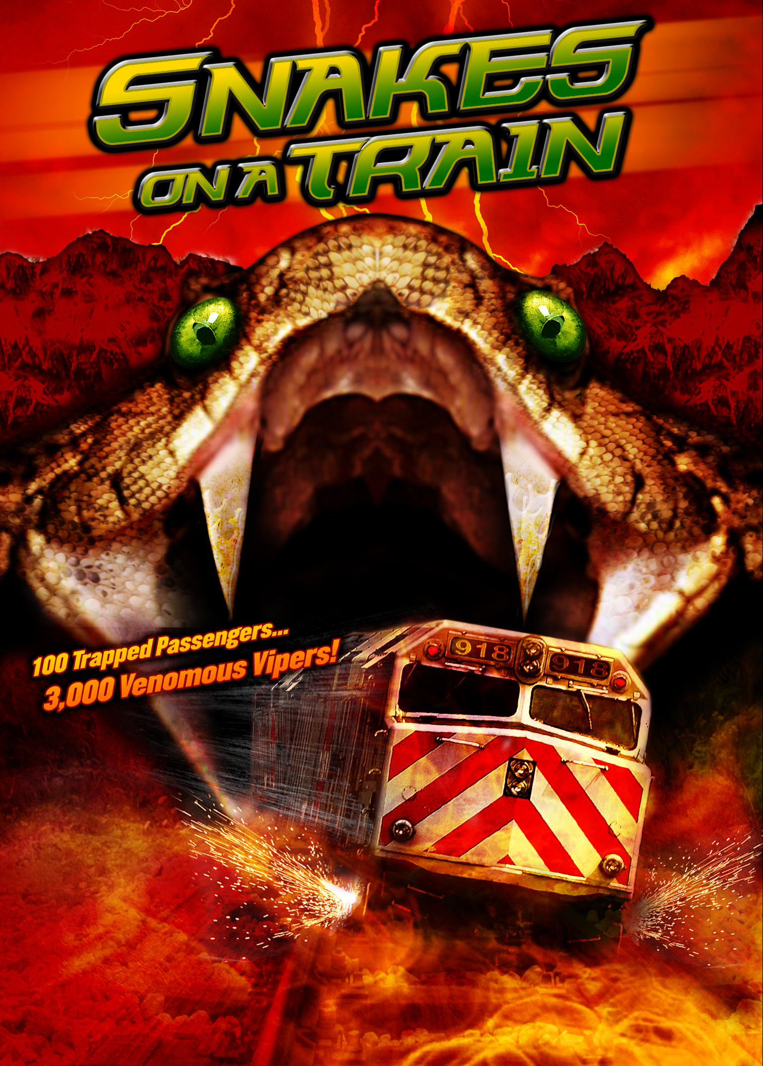 Snakes On A Train Video 2006