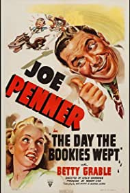 Betty Grable and Joe Penner in The Day the Bookies Wept (1939)