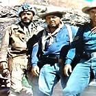 Gordon Jones, Douglas Spencer, and Robert J. Wilke in Smoke Signal (1955)