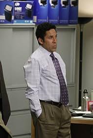 Oscar Nuñez, Angela Kinsey, and Brian Baumgartner in The Office (2005)