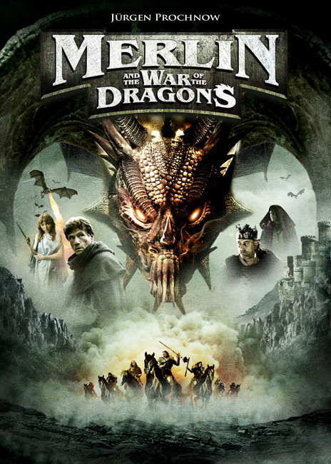 Merlin And The War Of The Dragons 2008 Dual Audio Hindi ORG 720p HDRip 600MB Download