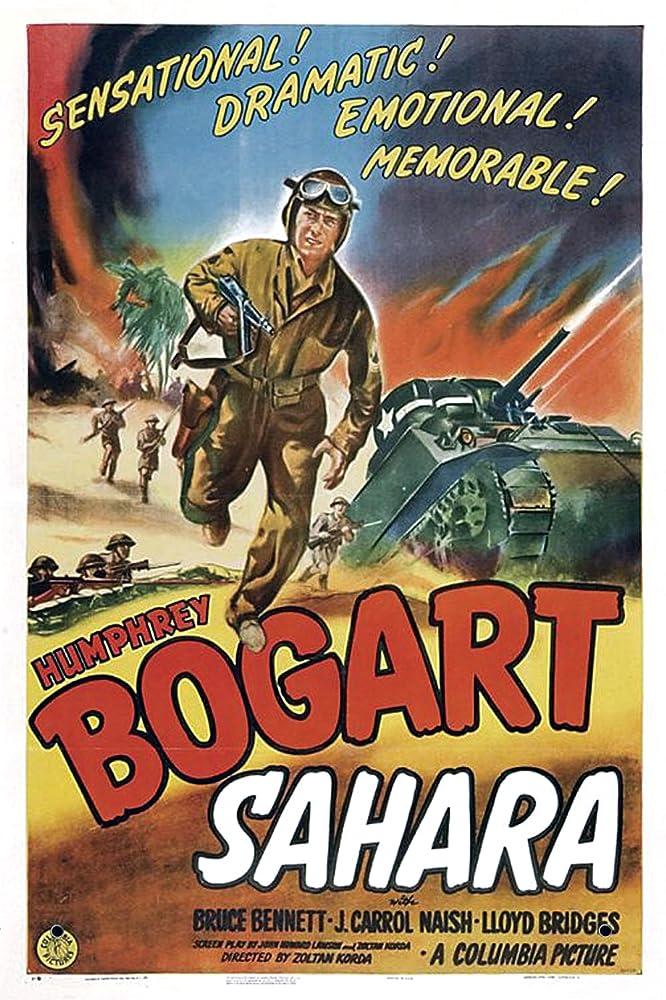 Humphrey Bogart in Sahara 1943