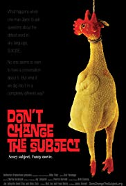 Don't Change the Subject Poster