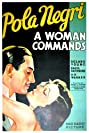 A Woman Commands (1932) Poster