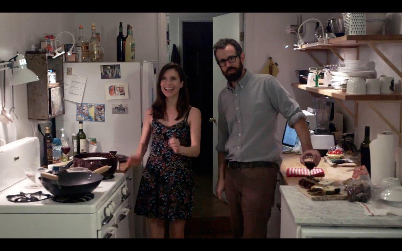 Duncan Birmingham and Rachel Sondag in The Bad Half (2014)