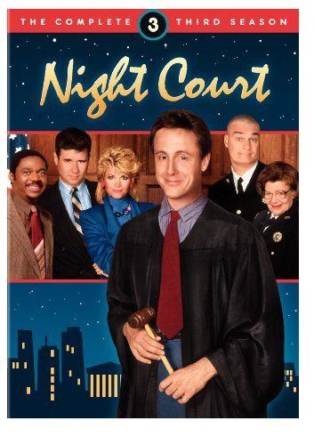 Harry Anderson, Florence Halop, John Larroquette, Richard Moll, Markie Post, and Charles Robinson in Night Court (1984)