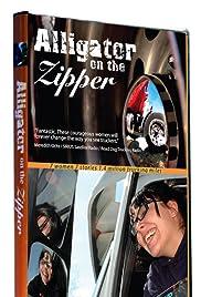 Alligator on the Zipper Poster