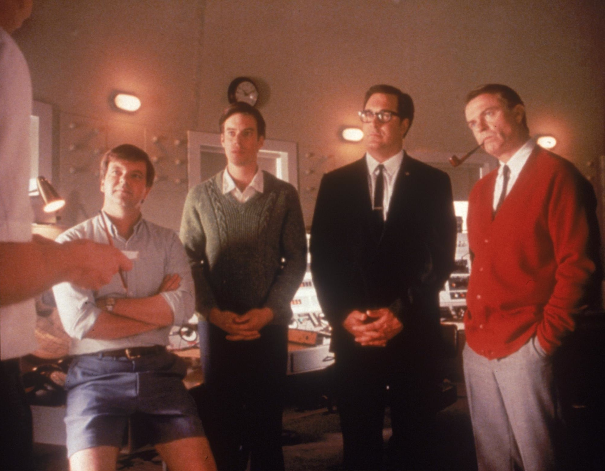 Sam Neill, Kevin Harrington, Tom Long, and Patrick Warburton in The Dish (2000)
