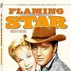 Elvis Presley and Barbara Eden in Flaming Star (1960)