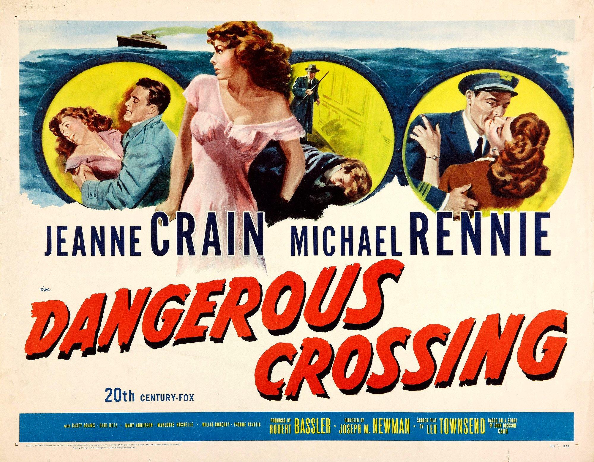 Dangerous Crossing (1953) – Drama, Film-Noir, Mystery