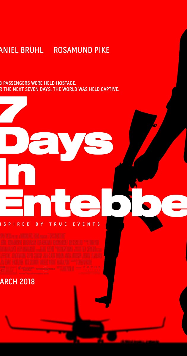 7 dienos Entebėje / 7 Days in Entebbe (2018)