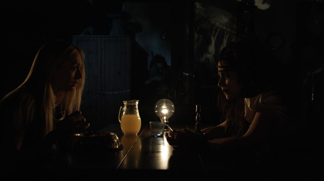Debbie Rochon and Johanna Stanton in Nightmare Box (2013)