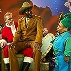 Billy Bob Thornton, Bernie Mac, and Tony Cox in Bad Santa (2003)