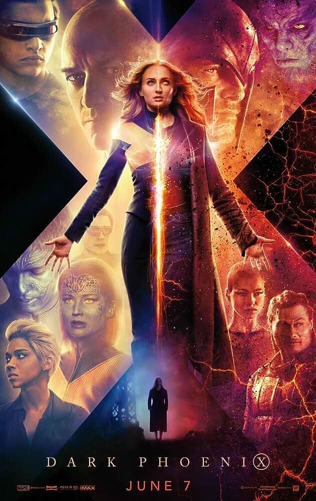 X-Men Dark Phoenix 2019 HDCAM Dual Audio Hindi English 720p x264