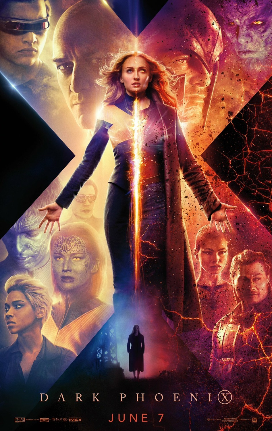 Dark Phoenix (2019) BluRay 720p, 1080p & 4K-2160p