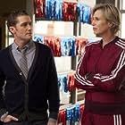 Jane Lynch and Matthew Morrison in Glee (2009)