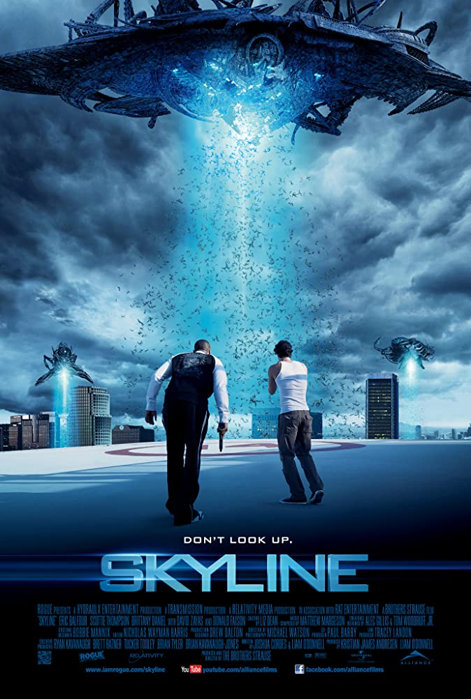 Skyline (2010) Dual Audio Hindi 300MB BluRay 480p ESubs