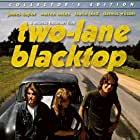 Laurie Bird, James Taylor, and Dennis Wilson in Two-Lane Blacktop (1971)