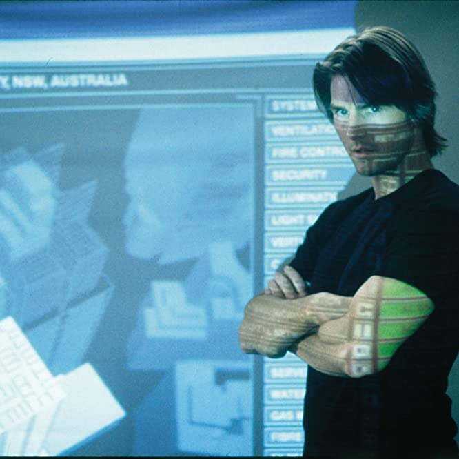 Tom Cruise in Mission: Impossible II (2000)