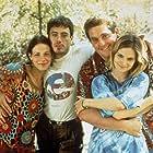 Robert Downey Jr., Jennifer Jason Leigh, Lili Taylor, and Chris Penn in Short Cuts (1993)