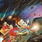 John A. Davis, Albie Hecht, and Steve Oedekerk in Jimmy Neutron: Boy Genius (2001)