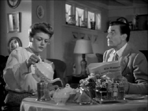 Angela Lansbury and Walter Pidgeon in If Winter Comes (1947)